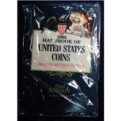 "1989 ""Handbook of United States Coins Dealer Buying Prices"", 42nd Edition, by R.S. Yeoman."