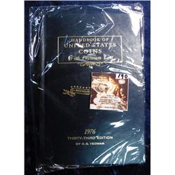 "1976 Thirty-Third Edition ""Handbook of United States Coin with Premium List"", Bicentennial Edition,"