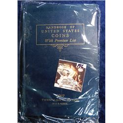 "1969 Twenty-sixth Edition ""Handbook of United States Coin with Premium List"", by R.S. Yeoman."