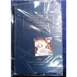 "1966 Twenty-third Edition ""Handbook of United States Coin with Premium List"", by R.S. Yeoman."