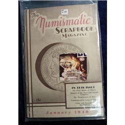 "January 1940 ""The Numismatic Scrapbook"". With articles on The First Banks of Illinois, Notgeld, and"