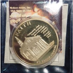 2011 American Mint Medal the American Spirit Remembering 9/11 - Faith of Sanctuary St. Paul's Chapel