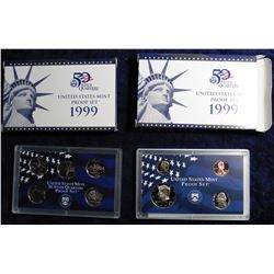 (2) 1999 S U.S. Proof Sets. Original as issued.