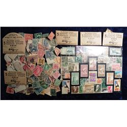 John Morrell and Co. with lots of Old Used U.S. & Foreign Postage Stamps. (Ottumwa, Iowa).