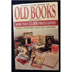 """Third Edition Official Price Guide to Old Books"", by Marie Tedford and Pat Goudey. Pbk. Like new."