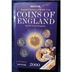 """Spink Standard Catalogue of British Coins of England and the United Kingdom"", 35th Edition. 2000. H"