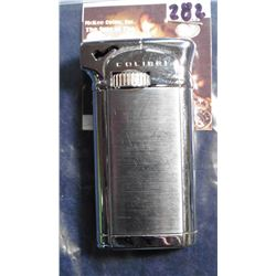 """Colibri"" Stainless Steel Pipe Lighter. Like new."