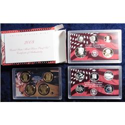 2008 S U.S. Silver Proof Set. Original as issued.