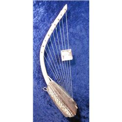 African Musical Harp made by natives at least forty to fifty years ago.