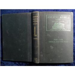 """Ancient World West Revised Edition"", Part One Greece and the East. Hardbound."