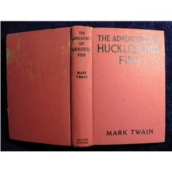 """The Adventures of Huckleberry Finn"", by Mark Twain. Hdb. 1918 Copyright."