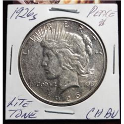 1926 S Peace Dollar Better Date CH.BU
