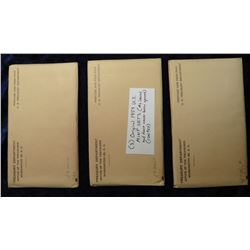 (3) 1959 U.S. Mint Sets (As issued and have never had their envelopes opened).  Originally sold in o