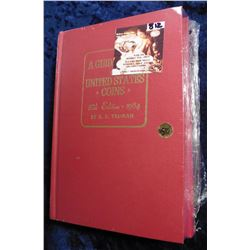 "37th & 53rd editions ""The Official Red Book A Guide Book of United States Coins"", by R.S. Yeoman. Bo"