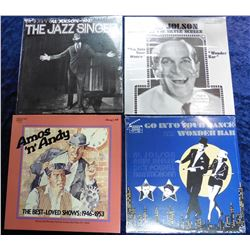 "Group of 33 RPM Record Albums: ""Go into Your Dance and Wonder Bar"" Al Jolson; ""Al Jolson on the Silv"