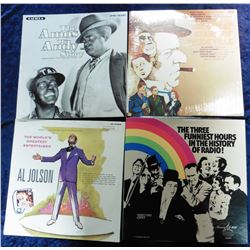 "Group of 33 RPM Record Albums: ""The Three Funniest Hours in the History of Radio!""; ""The Great Stars"
