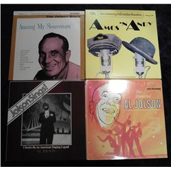 "Group of 33 RPM Record Albums: ""Amos 'n' Andy The Murray Hill Radio Theatre""; ""The Immortal Al Jolso"
