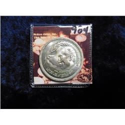 AH1400-1980 Egypt .7200 fine Silver One Pound. KM508. Mtg. 95,000. KM value $14.00.