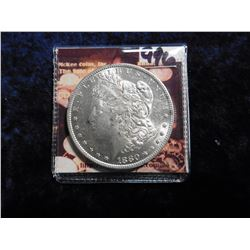 1880 S Morgan Silver Dollar. Brilliant Uncirculated.