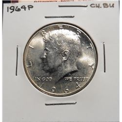 1964 P Kennedy Half Dollar. Choice BU.