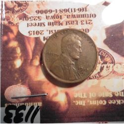1913 D Lincoln Cent. VF 30.