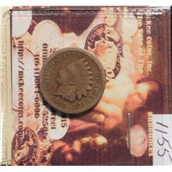 1863 U.S. Indian Head Cent. G-4