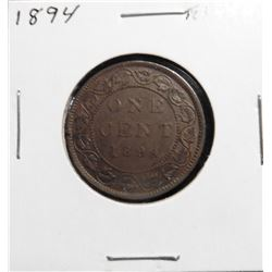 1894 Canada Large Cent. EF 40.