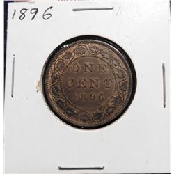 1896 Canada Large Cent. EF 40.