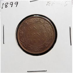1899 Canada Large Cent. EF-45.