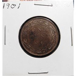 1901 Canada Large Cent. MS 60.
