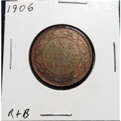 1906 Canada Large Cent. MS 60.