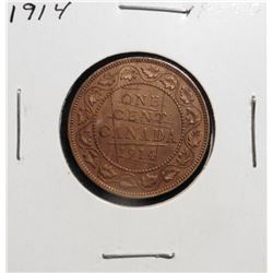 1914 Canada Large Cent. VF 20.