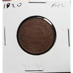 1920 Canada Large Cent. F-12.