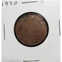1920 Canada Large Cent. EF 40.