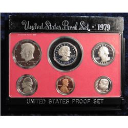 1979 S U.S. Proof Set. Original as issued.