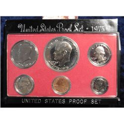 1975 S U.S. Proof Set. Original as issued.