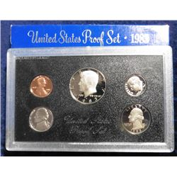 1983 S U.S. Proof Set. Original as issued.