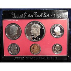 1978 S U.S. Proof Set. Original as issued.