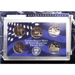 2001 S U.S. Statehood Quarters Proof Set. Original as issued.