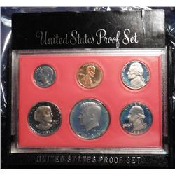 1981 S U.S. Proof Set. Original as issued.