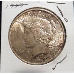 1923 P U.S. Peace Silver Dollar. Gem Toned Uncirculated.