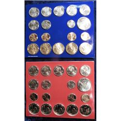 2009 U.S. Mint Set. Original as issued in packing box. 36 pcs. Issued at $27.95, face value $14.38.