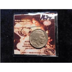 1929 D Buffalo Nickel. AU 55. Red Book value $45.00.