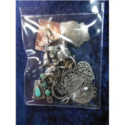 Large group of mixed Jewelry including Sterling Silver Rings.
