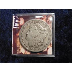 1904 S Morgan Silver Dollar Nice F-VF. Red Book is $200 in EF.
