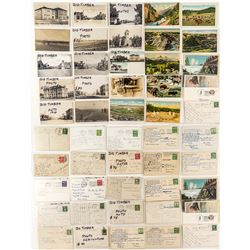 Big Timber Postcard Collection