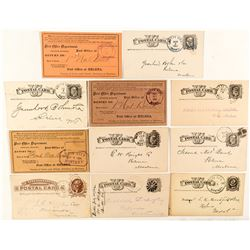 Butte City, Silver Bow Territorial Postal History Collection