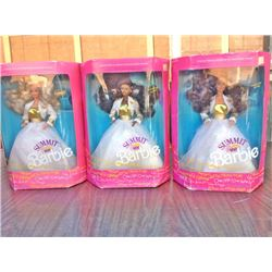 Lot (3 pc) BARBIE SUMMIT