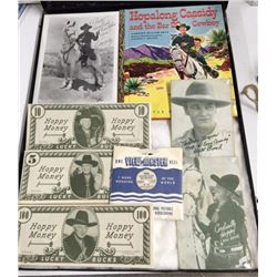 HOPALONG CASSIDY Lot from Harry Rinker Collection AUTOGRAPHED