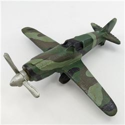 MESSERSCHMITT BF109/ME109 Vintage CAST IRON MODEL German WWII Fighter Airplane